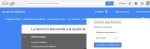 telefono google adwords
