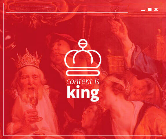 El Contenido sigue siendo el rey. Consejos para generar contenido de calidad