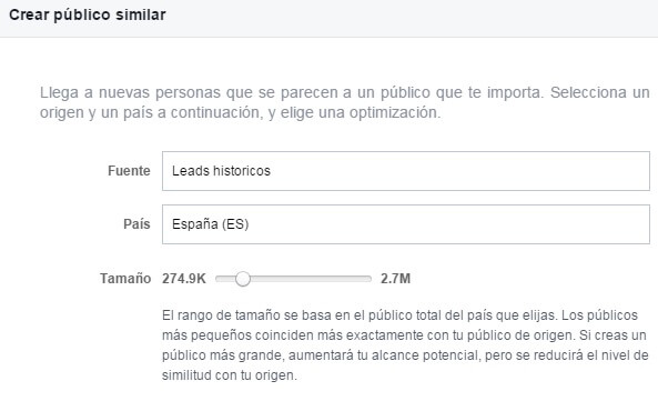 publico similar marketing online