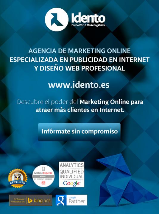 Gmail ads - idento agencia marketing online