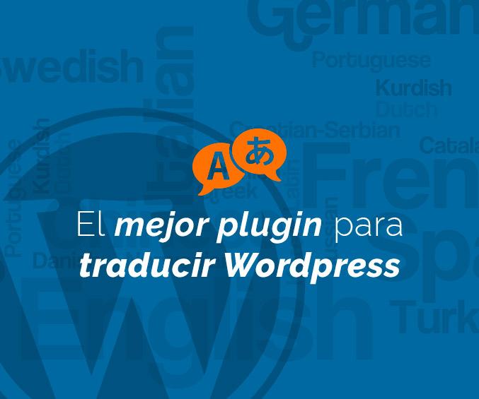 El mejor plugin para traducir WordPress