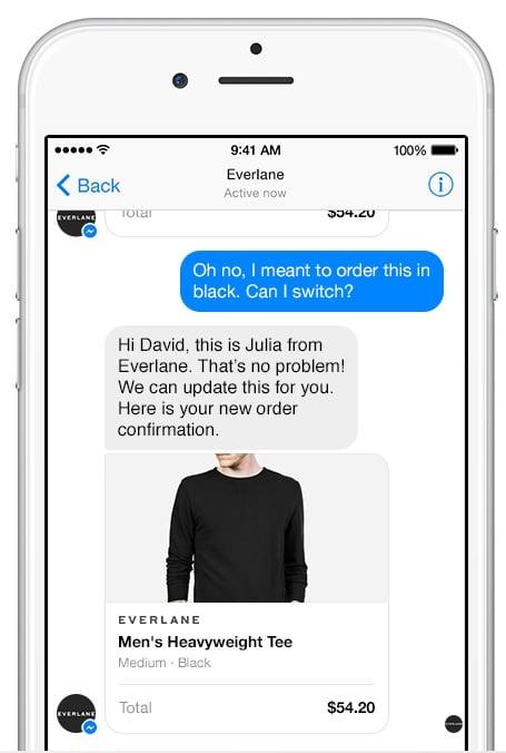 Facebook messenger para negocios soporte técnico