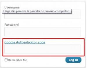 proteger el acceso al backend con Google Authenticator