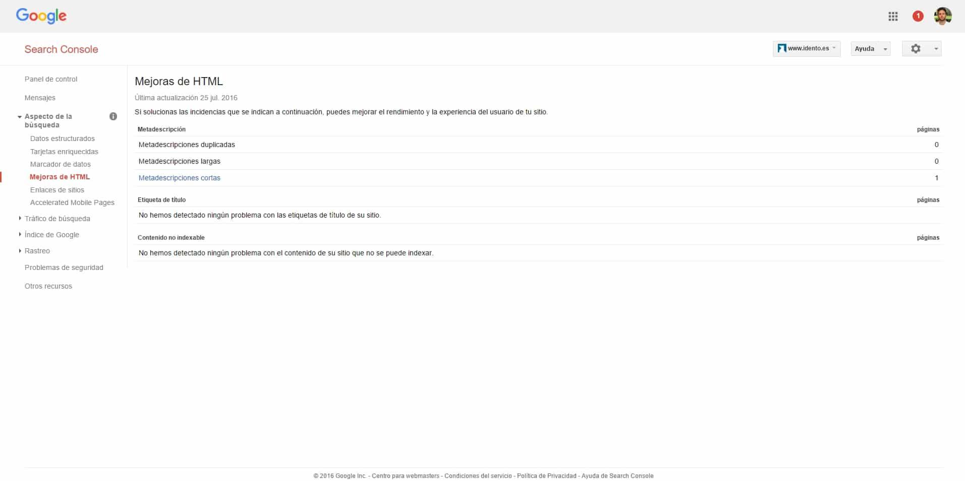 Herramientas SEO - Análisis Competencia y Backlinks   Google Search Console
