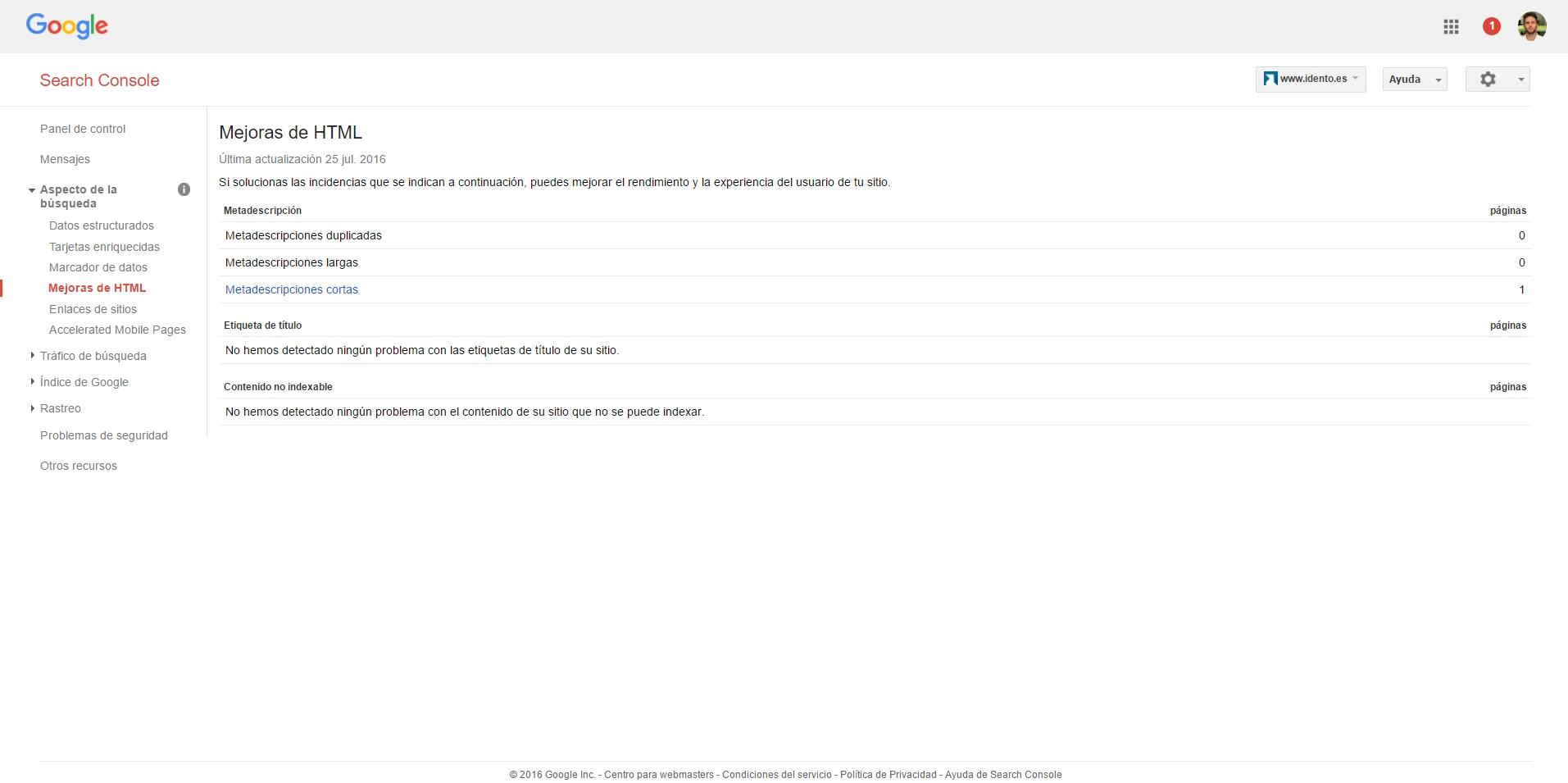 Herramientas SEO - Análisis Competencia y Backlinks | Google Search Console