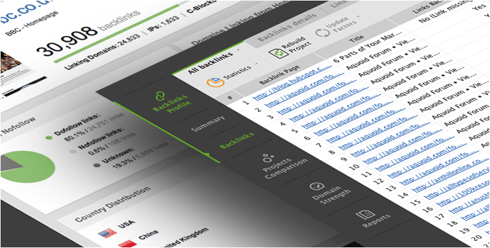 Herramientas SEO - Análisis Competencia y Backlinks | SEOSpyGlass