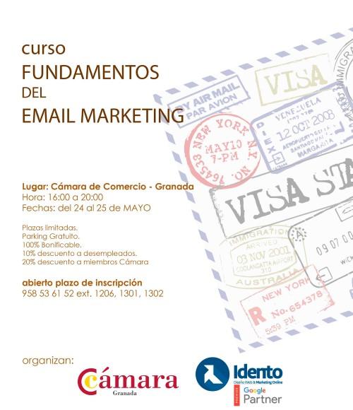curso taller sobre email marketing impartido por Idento en la Camara de Comercio de Granada
