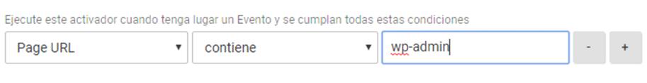 Crear activador Google Tag Manager