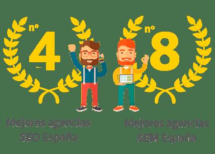 Idento entre las mejores agencias seo y sem
